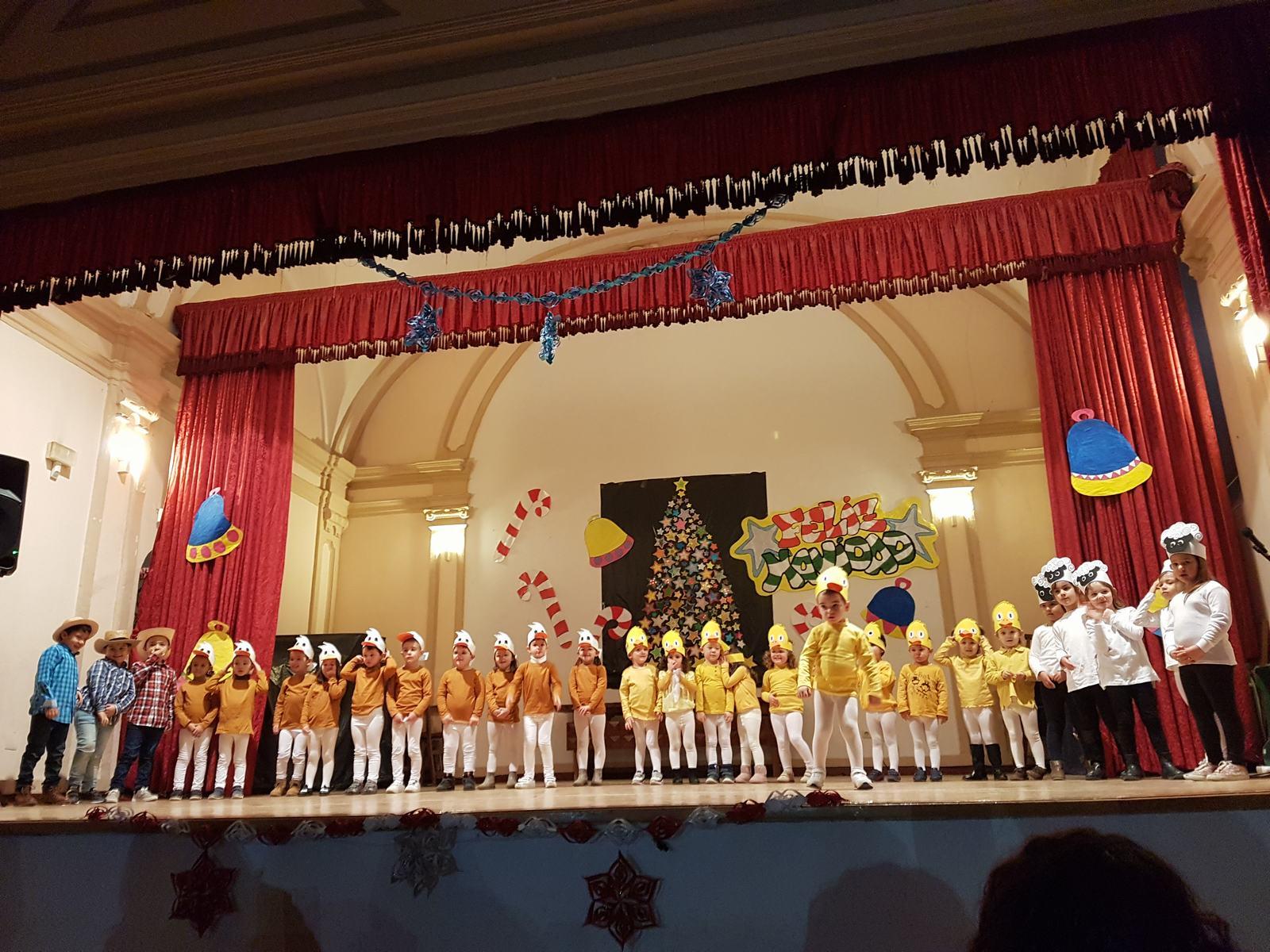 Festival de Navidad del Colegio R.A. Campos de la Alcarria