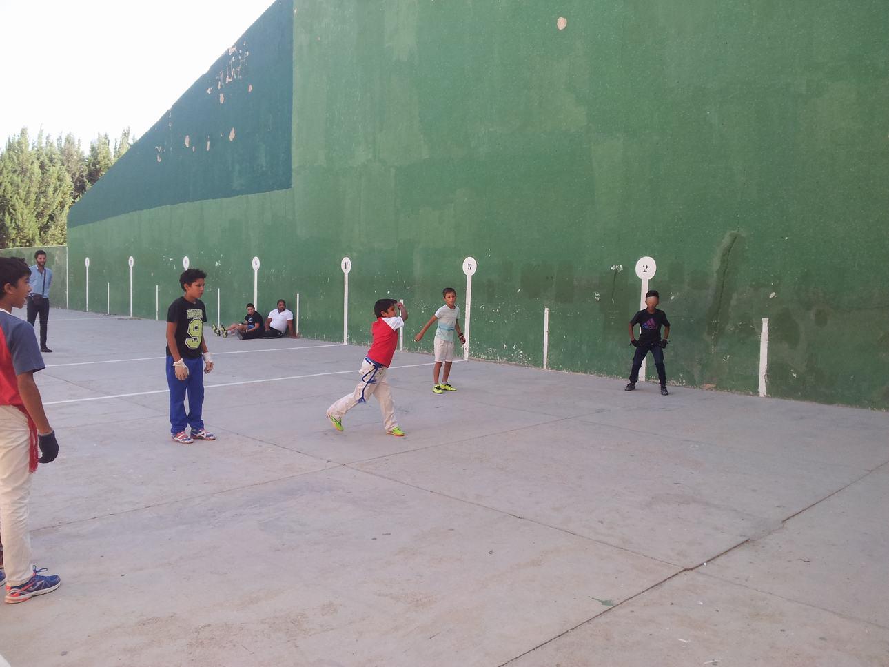 B Campeonato pelota mano infantil